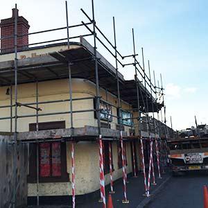 commercial scaffolding hire Bristol